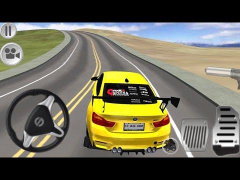 Jogo de Carro - M4 Driving Simulator -  Carros de Corrida para Crianças