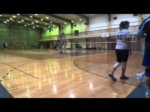 Trójmiejska Liga Siatkówki - Mlekołaki vs. Tie Break - 09.02.2014 - 4 set (видео)