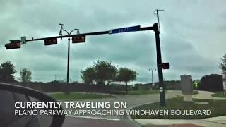 Carrollton (TX) United States  city pictures gallery : Traveling Down Plano Parkway- Carrollton, Texas (HD)