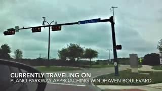 Carrollton (TX) United States  city photo : Traveling Down Plano Parkway- Carrollton, Texas (HD)