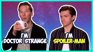 Video Tom Holland & Benedict Cumberbatch Funny Moments (Avengers Infinity War) MP3, 3GP, MP4, WEBM, AVI, FLV September 2018