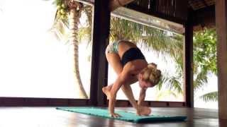 Jump Back Jump Through, Ashtanga Yoga Demo Koh Samui, Thailand