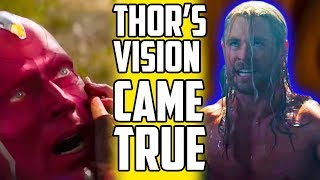 Video Did Thor's Vision Predict Infinity War's Ending? MP3, 3GP, MP4, WEBM, AVI, FLV Juli 2018