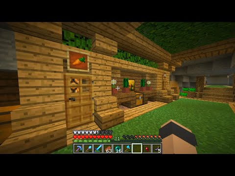 STREAM - Minecraft survival. In this Minecraft episode we check out some more changes around the man cave, and then we go setup an item stream in the end. Twitter: ht...