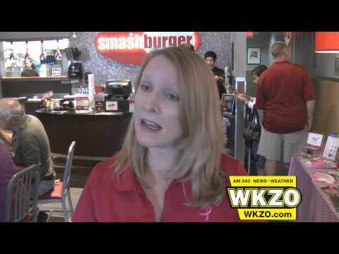 SW Michigan Komen Board President Kristin Sauerhoff talks about Smashburger fundraiser