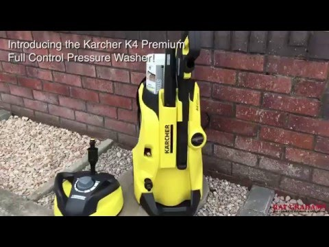 Karcher K4 Premium Full Control Pressure Washer
