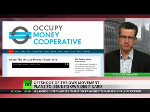 Occupy movement introduces Visa-backed debit card