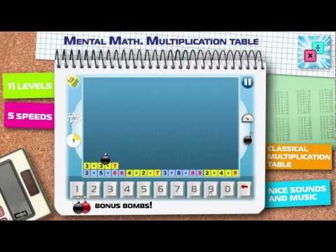 Video of Math. Мultiplication table