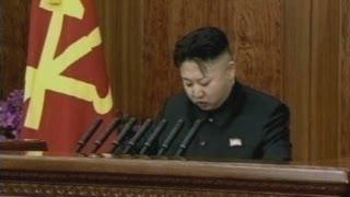 North Korea's Kim Jong-un makes a rare New Year's speech