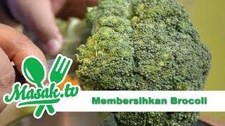 Membersihkan Brokoli