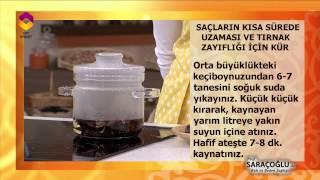 Saç Uzatan ve Tırnak Güçlendiren Kür - Prof. Dr. İbrahim Saraçoğlu