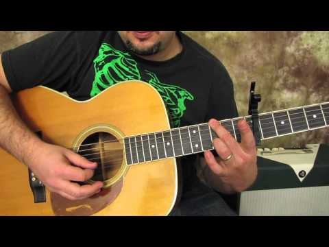 Beatles – Here Comes the Sun – Acoustic Guitar Lessons – George Harrison