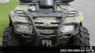 10. 2008 Can-Am Outlander 800 H.O. EFI XT 4x4  - Action Power...