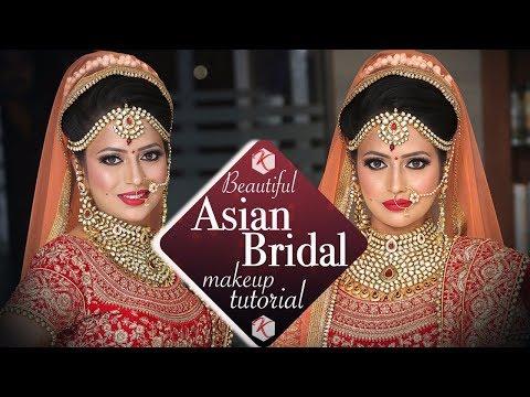 Video Asian Wedding Makeup Tutorial   Beautiful Asian Bridal Makeup   Indian Brides   Krushhh By Konica download in MP3, 3GP, MP4, WEBM, AVI, FLV January 2017