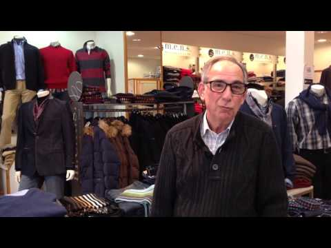 Interview Serge Nicolaidis, Boutique Mens