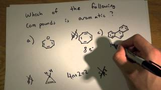 MCAT Question Of The Day 3 Ochem Aromatic Compounds