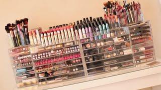 Video My Makeup Collection + Beauty Room! 2014 Carli Bybel MP3, 3GP, MP4, WEBM, AVI, FLV Juni 2018