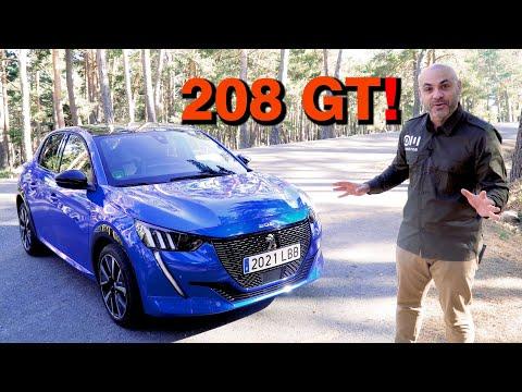 Modelos de uñas - ME PONGO AL VOLANTE del NUEVO PEUGEOT 208 GT LINE 130 CV ¿El nuevo 205 GTI?