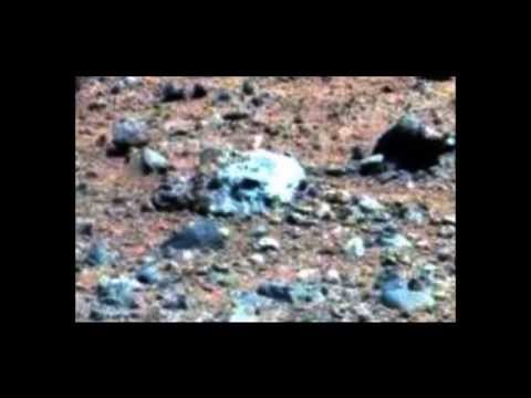 Alien Skull Found on Mars,  Mars Rover 2014, Anomalies
