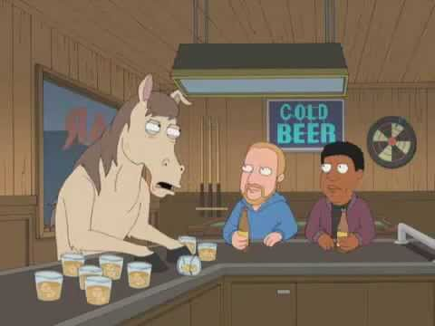 The Racist Horse...family guy. racism .mp4