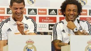 Cristiano Ronaldo y Marcelo en Ataque de Risa Durante Entrevista