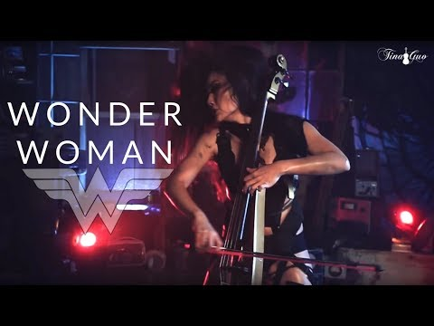 Electric Cellist Tina Guo Performs a Rocking Metal Cover of the Wonder Woman Theme