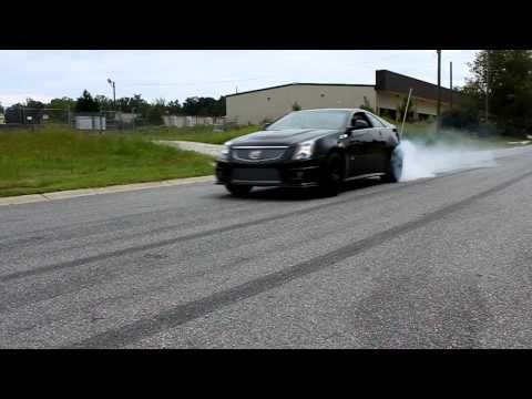 Vengeance Built 2011 Cadillac CTS-V Coupe Rolling Burn Out!