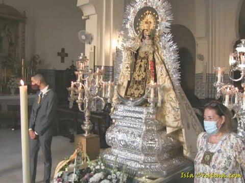 El pueblo de Isla Cristina rinde honores y pleitesía a la Vírgen del Carmen.