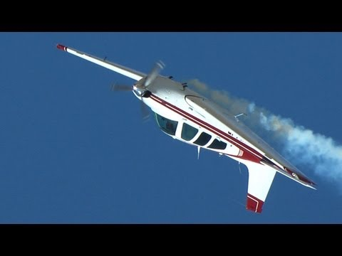 Beechcraft Bonanza Aerobatics At The Reno Air Races
