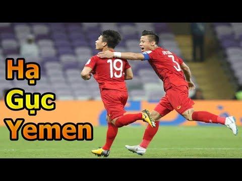 Thử Thách Bóng Đá Asian Cup 2019 ĐT Việt Nam VS Yemen Quang Hải , Quế Ngọc Hải , Phan Văn Đức goal - Thời lượng: 10 phút.