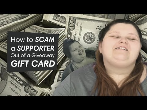 HOW TO: Scam A Supporter! | Amberlynn Reid Saga