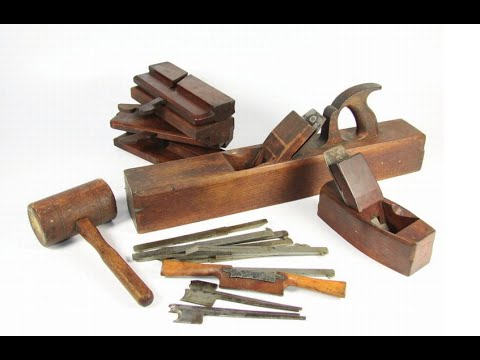 woodworking - I dropped by my local antique store today and came away with 4 beautiful tool treasures. Four tools for $32. Restoring old woodworking tools, Visit Wranglermart.com For Approved Gear: http://goo...