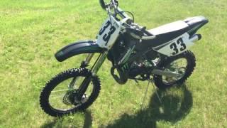 2. 2009 Kawasaki KX100 Monster Edition