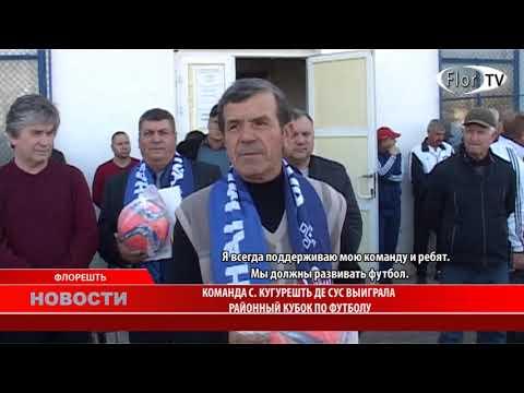 Команда с. Кугурешть де сус выиграла районный Кубок по футболу