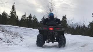 8. Polaris Sportsman 110 Winter Fun.