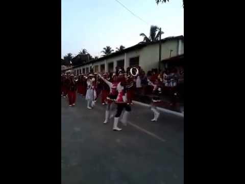 Corpo Coreográfico da Banda de Música Luiz Ferreira Gomes em Siririzinho