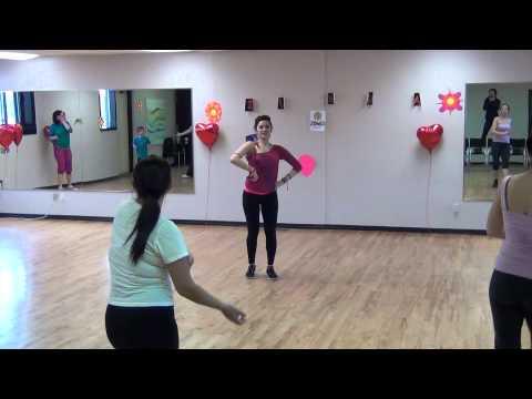 Зумба под Русские фольклорные танцы. Видео тренировка.