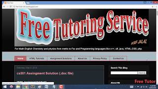 10. cs310 full solution video