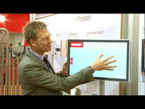 Beckhoff's Multi-touch Control Panel and Panel PCs