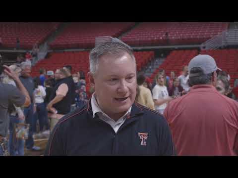 Texas Tech Volleyball vs. Baylor: Graystone Postgame | 2019