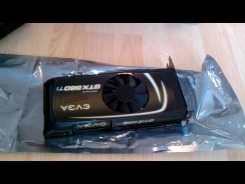 nVidia EVGA GTX 560 Ti Unboxing
