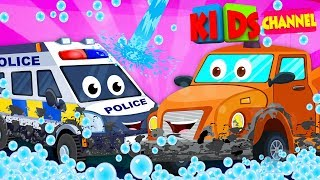Video 🔴 Car Wash Videos | Car Cartoons For Children | Street Vehicles by Kids Channel MP3, 3GP, MP4, WEBM, AVI, FLV September 2018