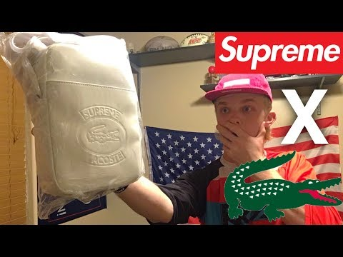 Supreme X Lacoste | UNBOXING ($100+)