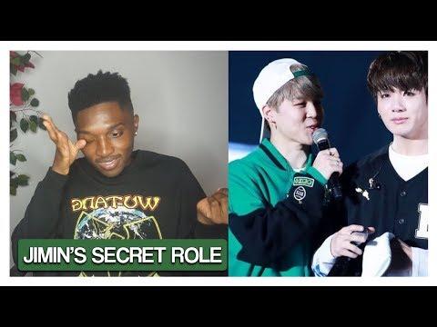 Jimin's Secret Role in BTS (REACTION)  Jayden Alexander