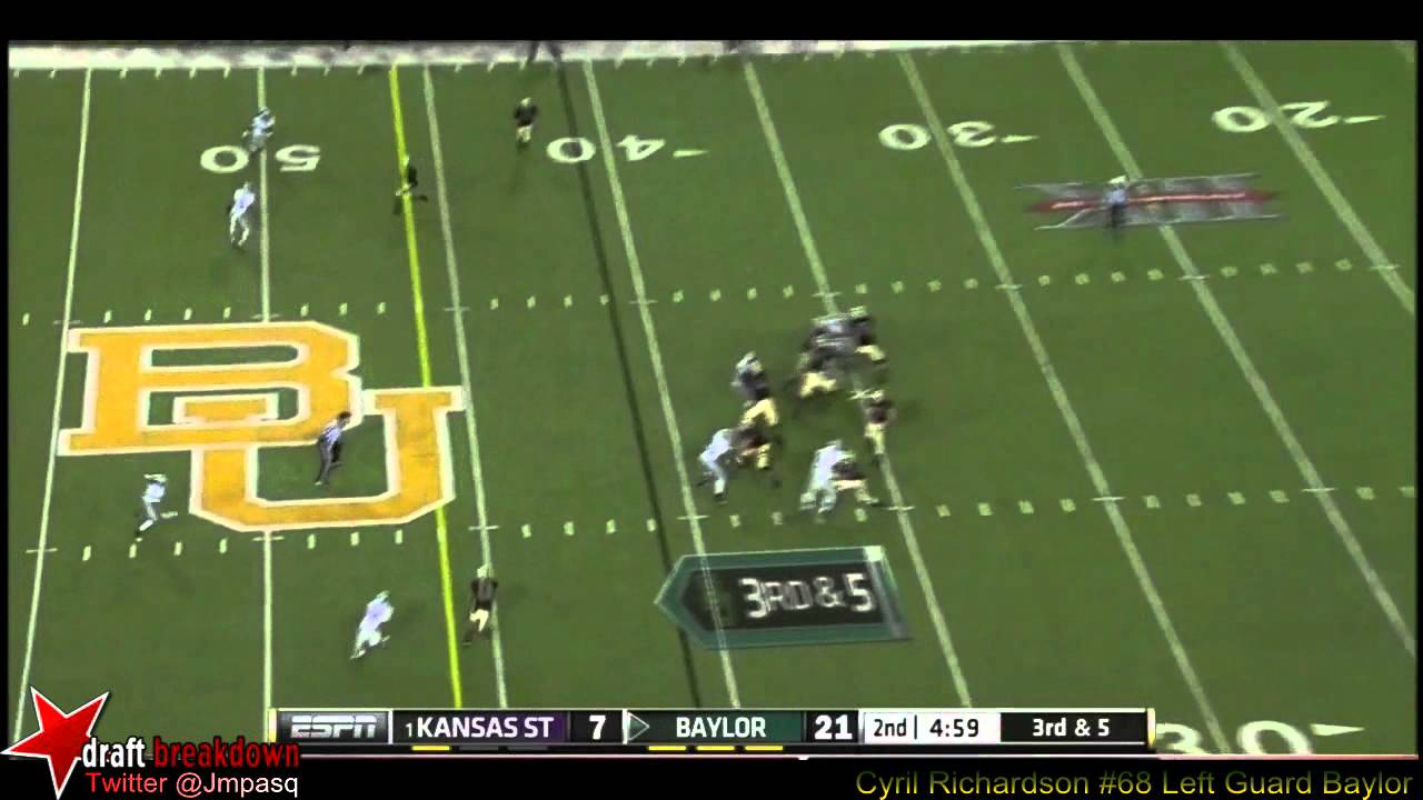 Cyril Richardson vs Kansas State (2012)