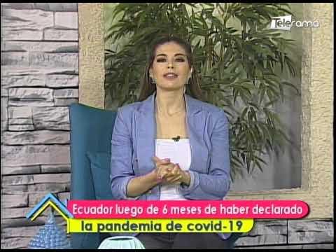 Ecuador luego de 6 meses de haber declarado la pandemia de covid-19