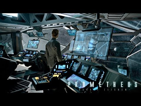 prometheus trailer 2 - PROMETHEUS DUNKLE ZEICHEN startet am 9. August 2012 - Filmkritik: Geplant http://youtube.com/Filme | http://fb.com/KinoCheck Im Auftrag von Weyland Industrie...