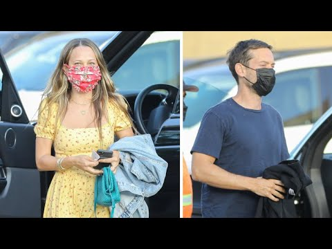 Tobey Maguire Reunites With Ex-Wife Jennifer Meyer For Mother's Day Dinner