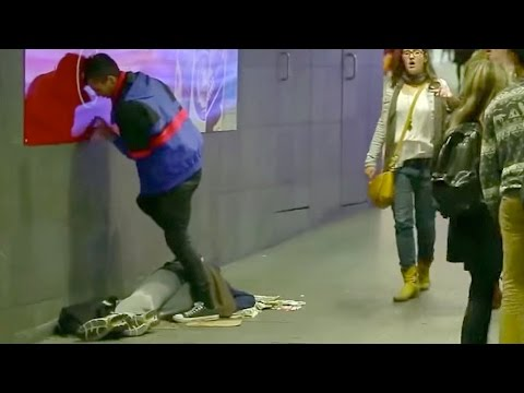 Video Homeless Man Urinated On (Social Experiment) download in MP3, 3GP, MP4, WEBM, AVI, FLV January 2017