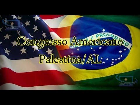 DAFHENY MELO - 6° CONGRESSO AMERICANO - PALESTINA/AL